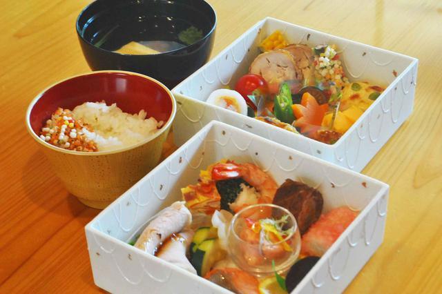 画像: 和食のお食事