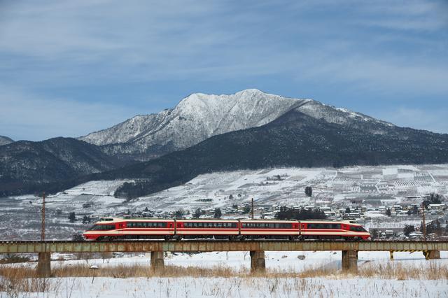 画像: ワインバレー列車の車窓からの景色
