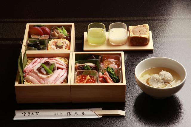 画像: 和食フルコース(一例)