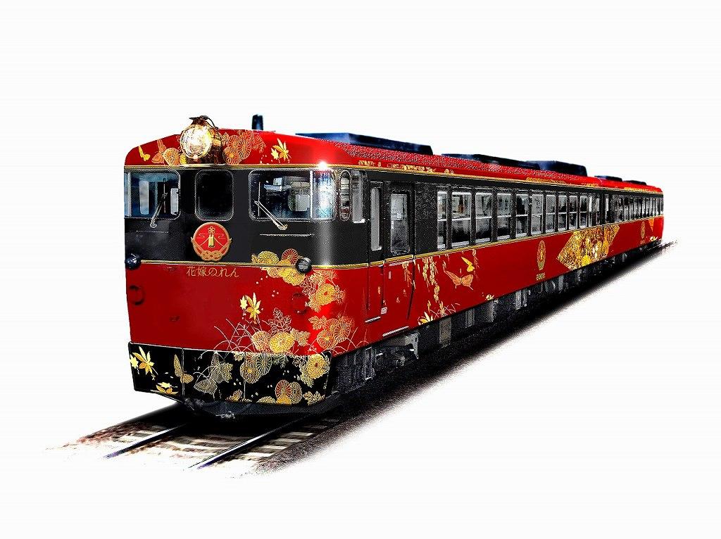 画像: 花嫁のれん(外観・イメージ) <写真提供:JR西日本>