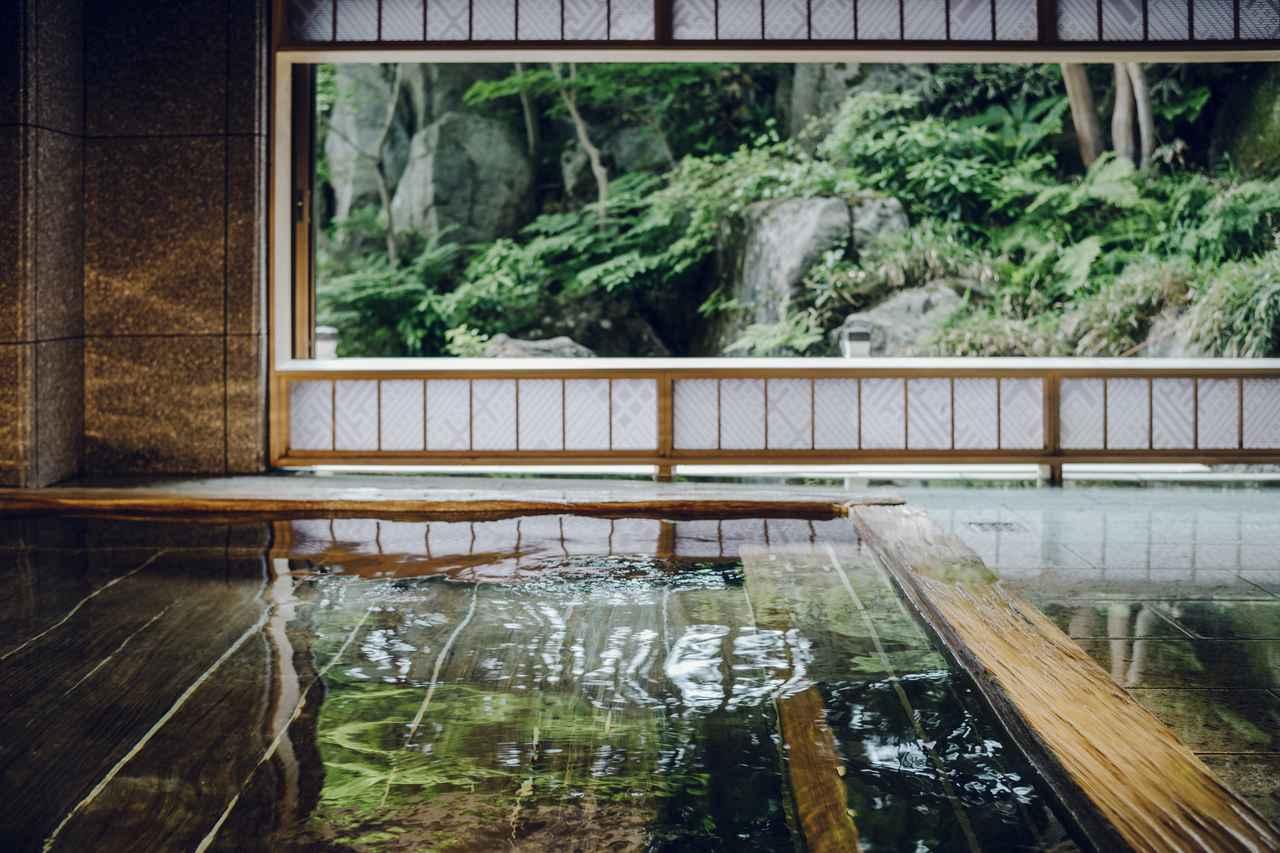 画像: 青森ヒバの湯殿(イメージ/星野リゾート様ご提供)