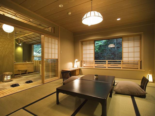 画像: 露天風呂付客室(旅館提供)