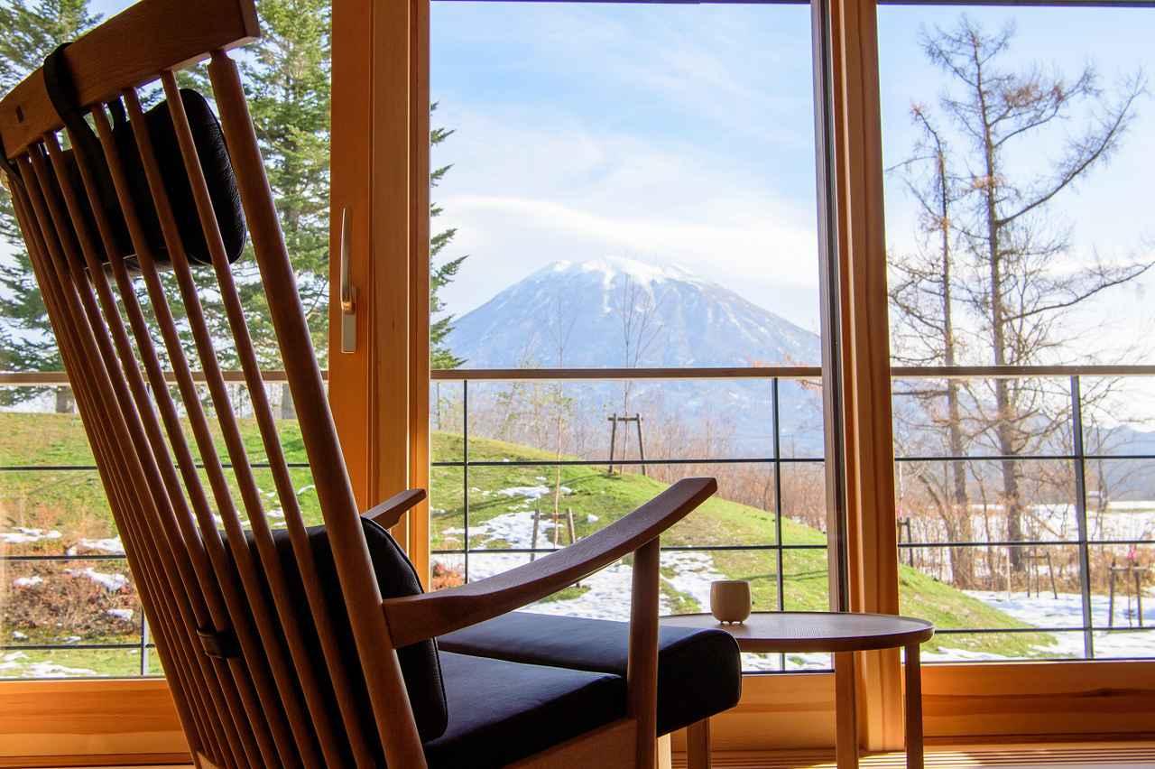 画像: 羊蹄山を一望する客室(イメージ)