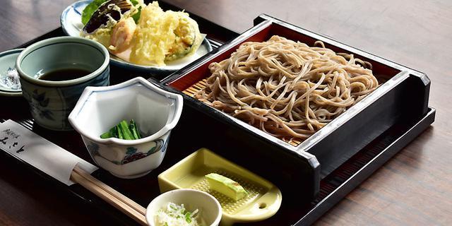 画像: 庭園そば処みさと 昼食(イメージ) 四季の華特製そば御膳の昼食