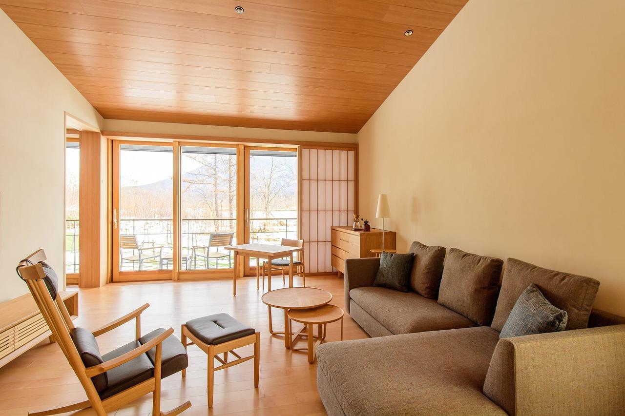 画像: 広々とした「山の間」の客室(イメージ)