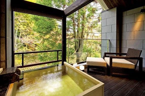 画像: 06091 「温泉露天風呂付離れ客室」 (イメージ)