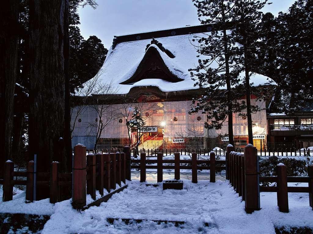 画像: 羽黒山三神合祭殿(イメージ)