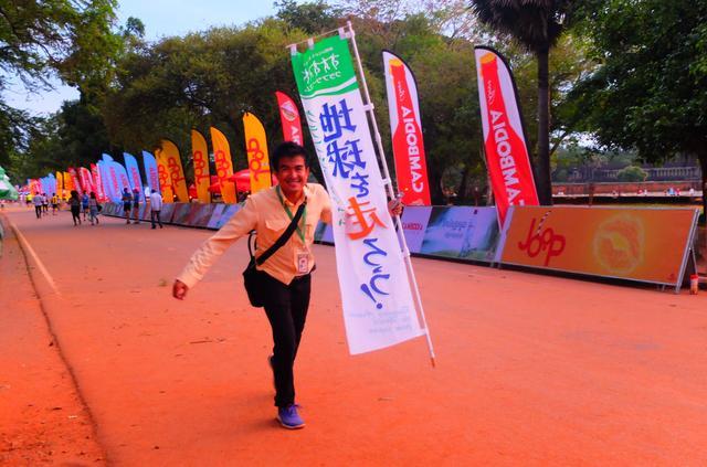 画像: 今回は毎年8月に開催しているカンボジア アンコールワットエンパイアマラソンに同行してきました!