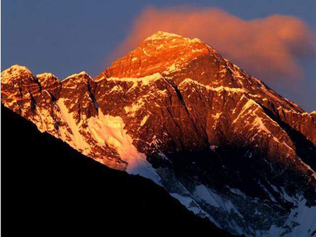 画像: エベレスト/8,848m(イメージ)