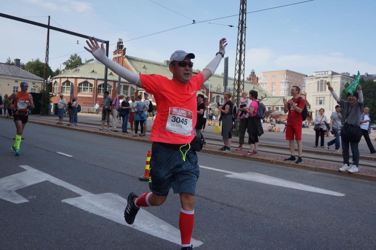 画像6: マラソン大会はなんと驚きの午後3時スタート。