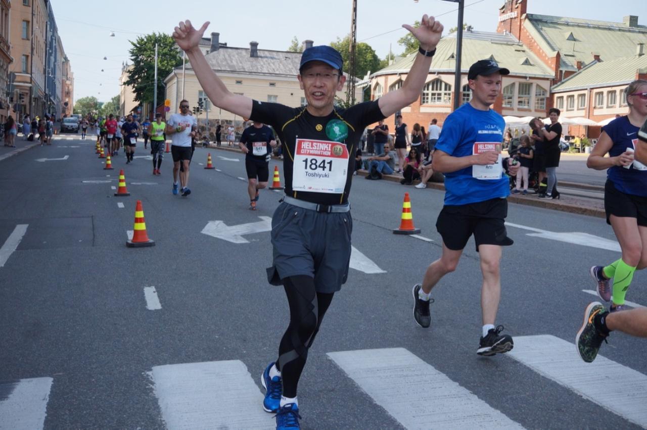 画像7: マラソン大会はなんと驚きの午後3時スタート。