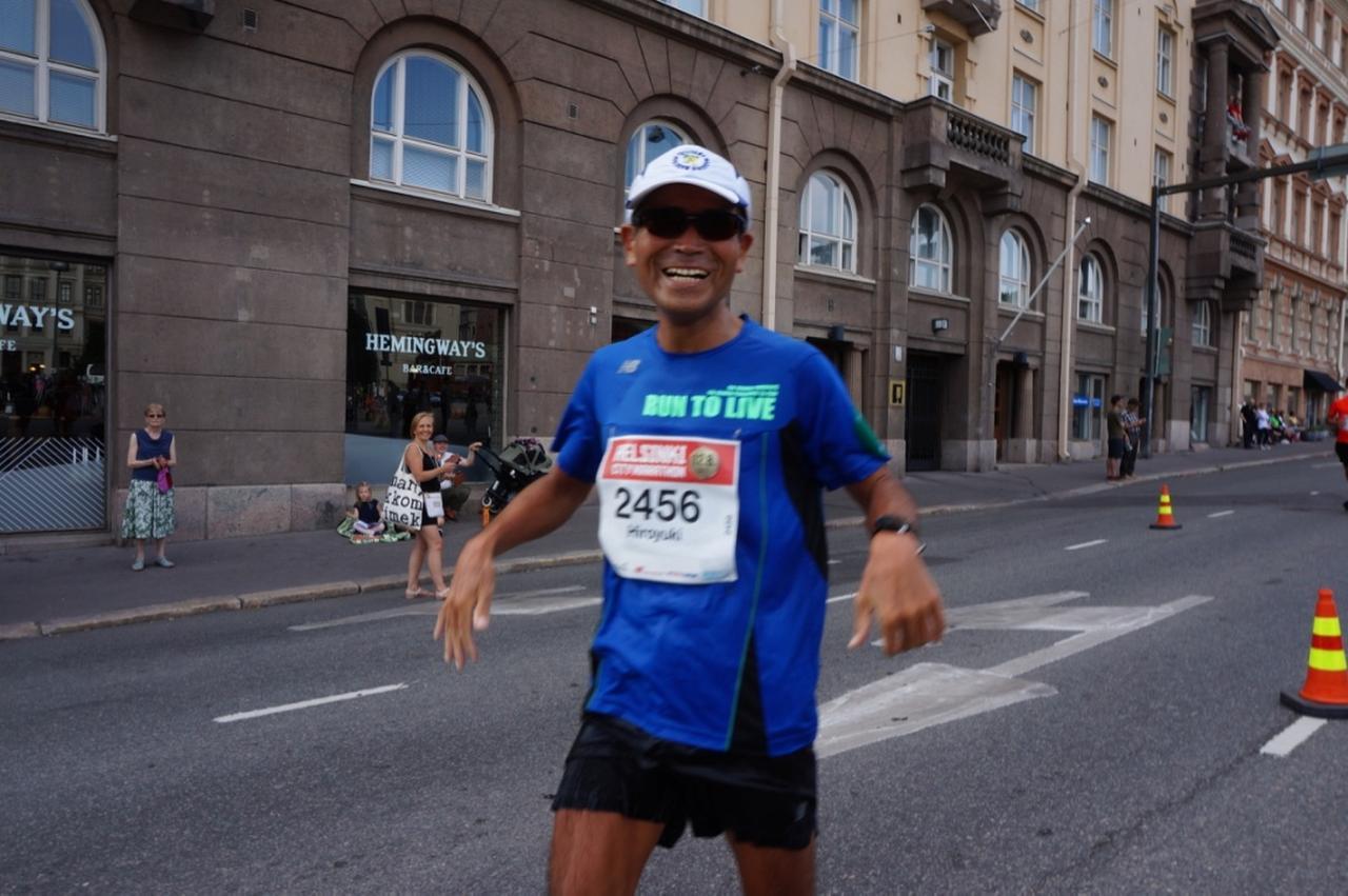 画像5: マラソン大会はなんと驚きの午後3時スタート。