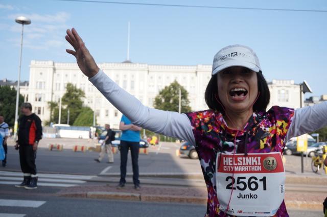 画像8: マラソン大会はなんと驚きの午後3時スタート。