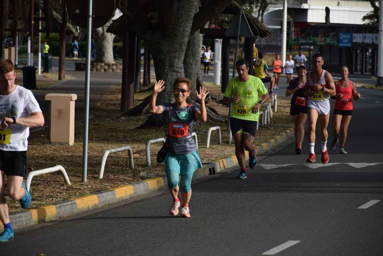 画像5: マラソンコースは平坦で走りやすい