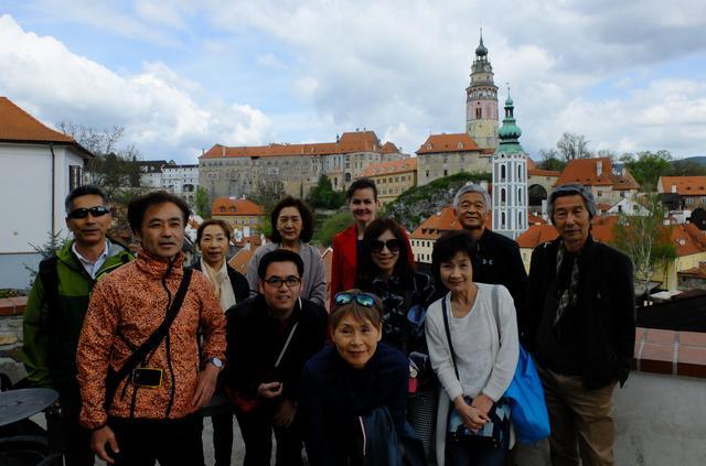 画像6: マラソンの後は観光。チェスキークルムロフとウィーンへ