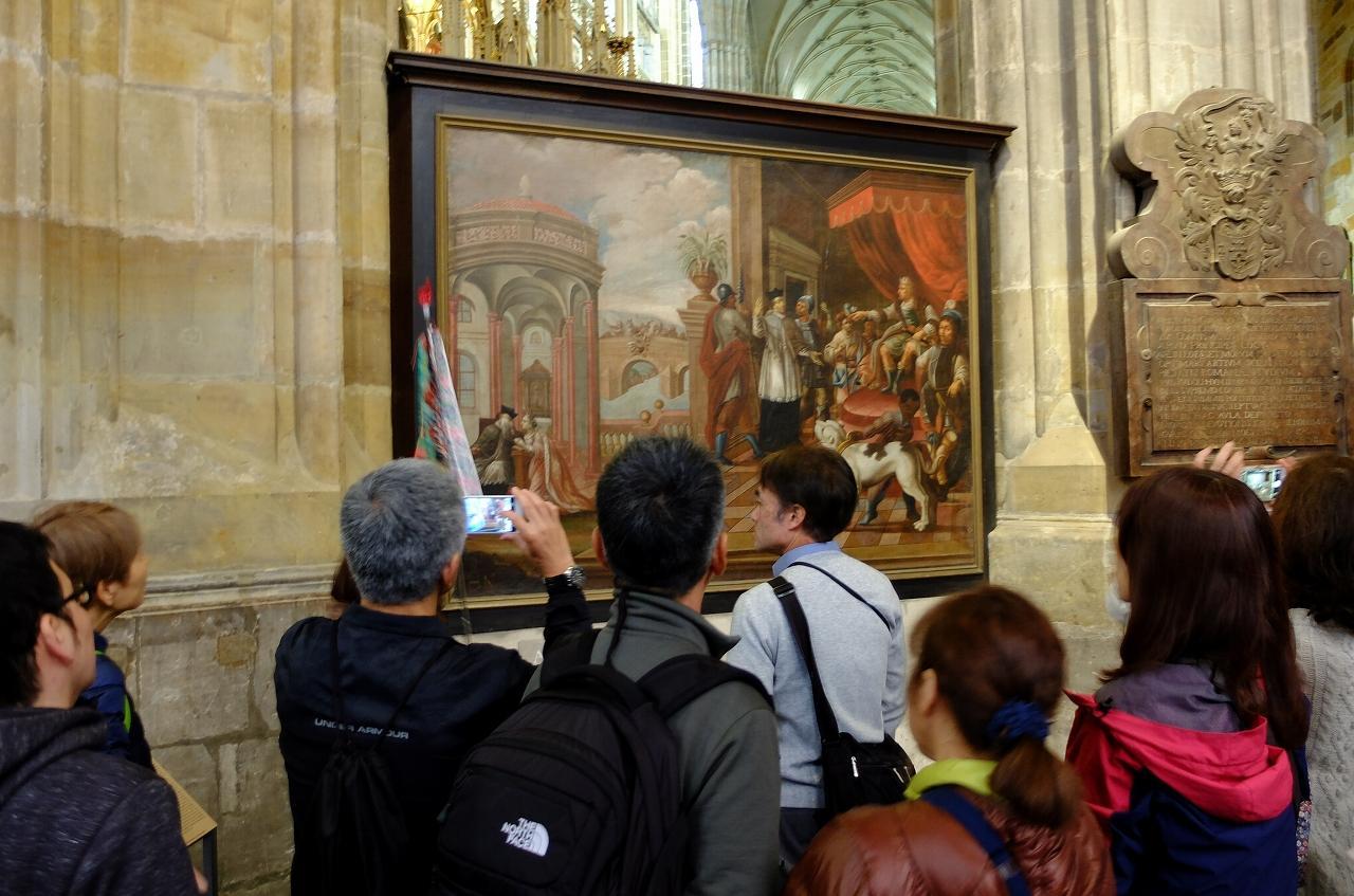 画像6: プラハ城にある聖ヴィート教会から旧市街まで石畳みの中世趣きのある街並み