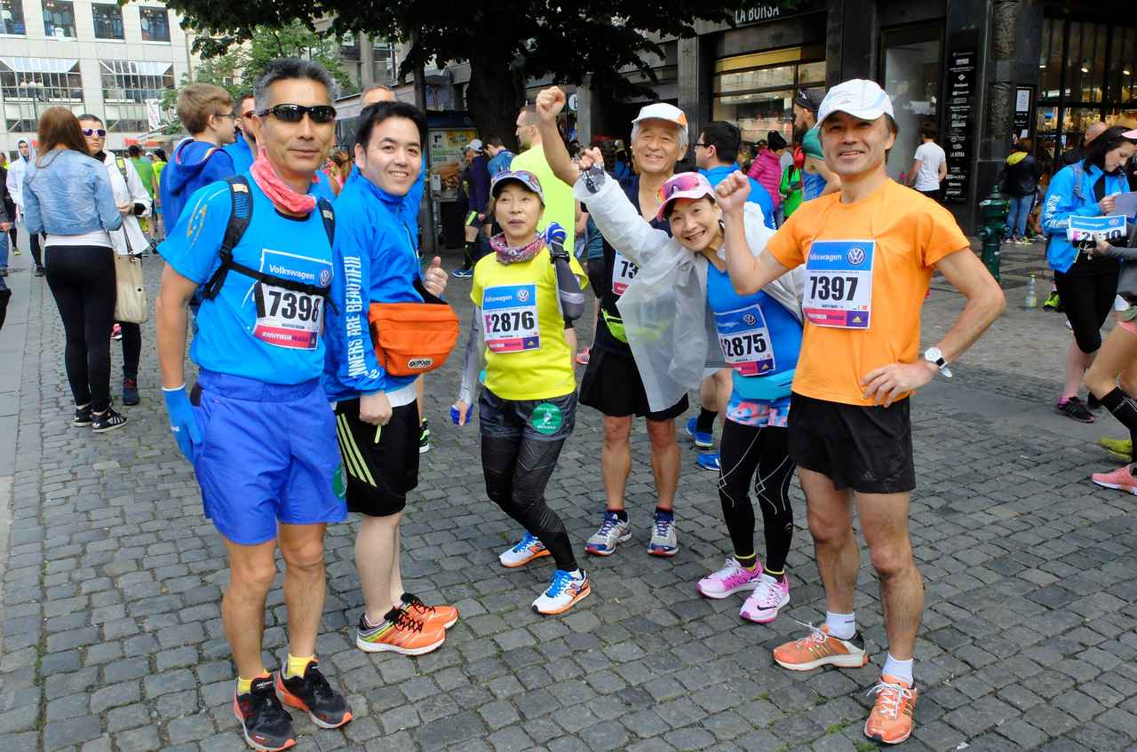 画像3: チェコプラハマラソン大会当日は、天気にも恵まれマラソン日和
