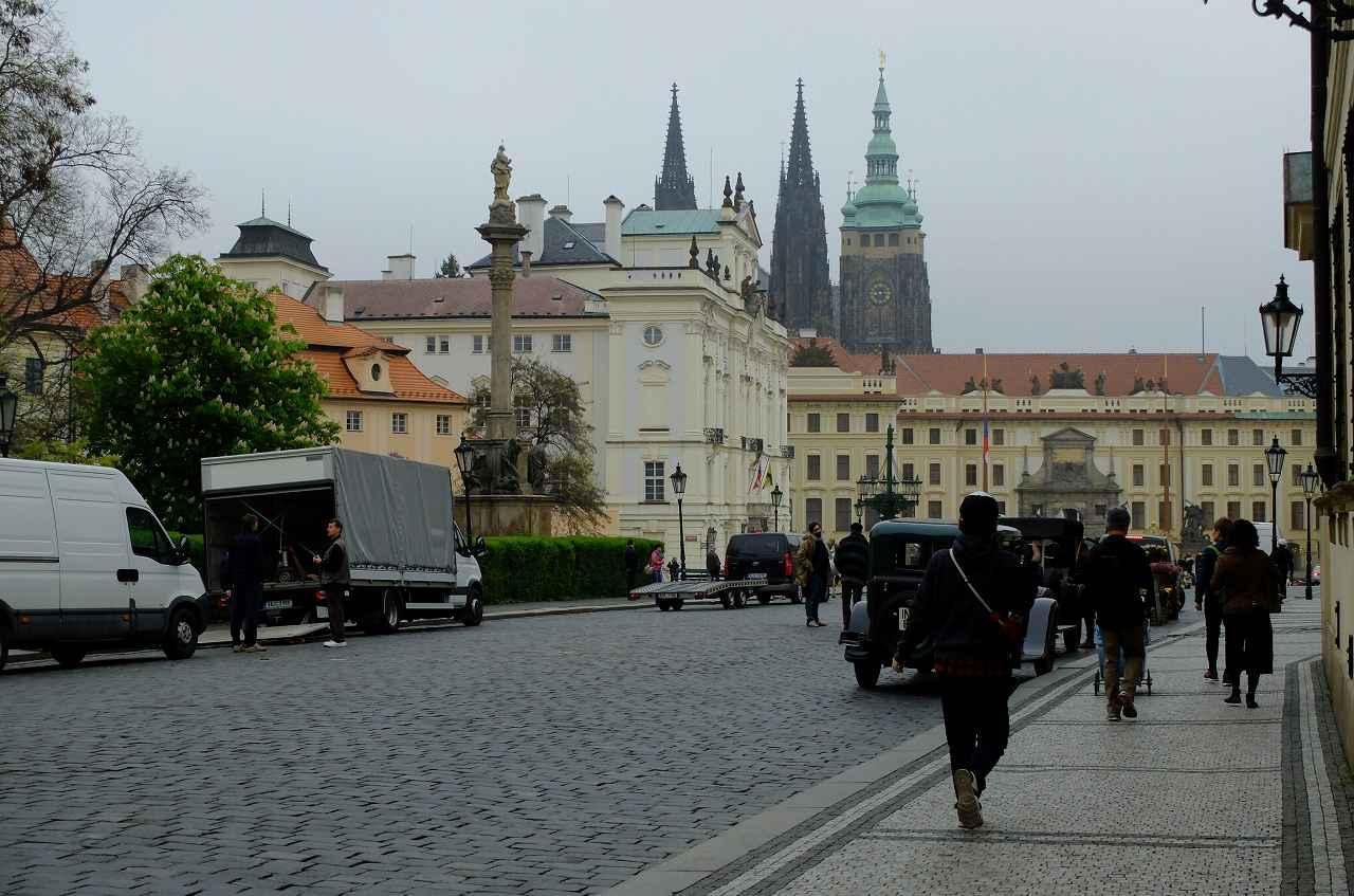 画像1: プラハ城にある聖ヴィート教会から旧市街まで石畳みの中世趣きのある街並み