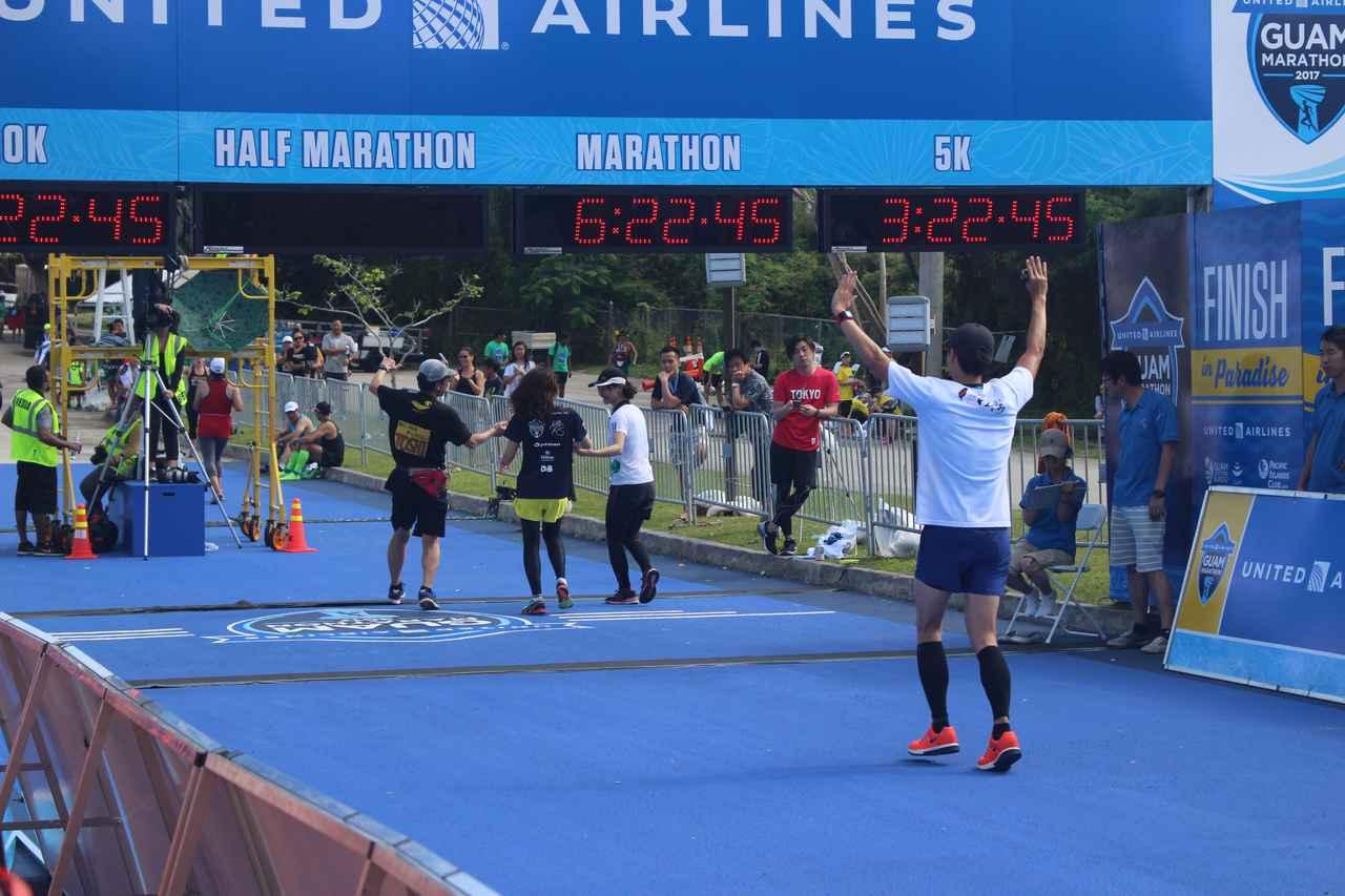 画像10: 4月9日グアムマラソン当日