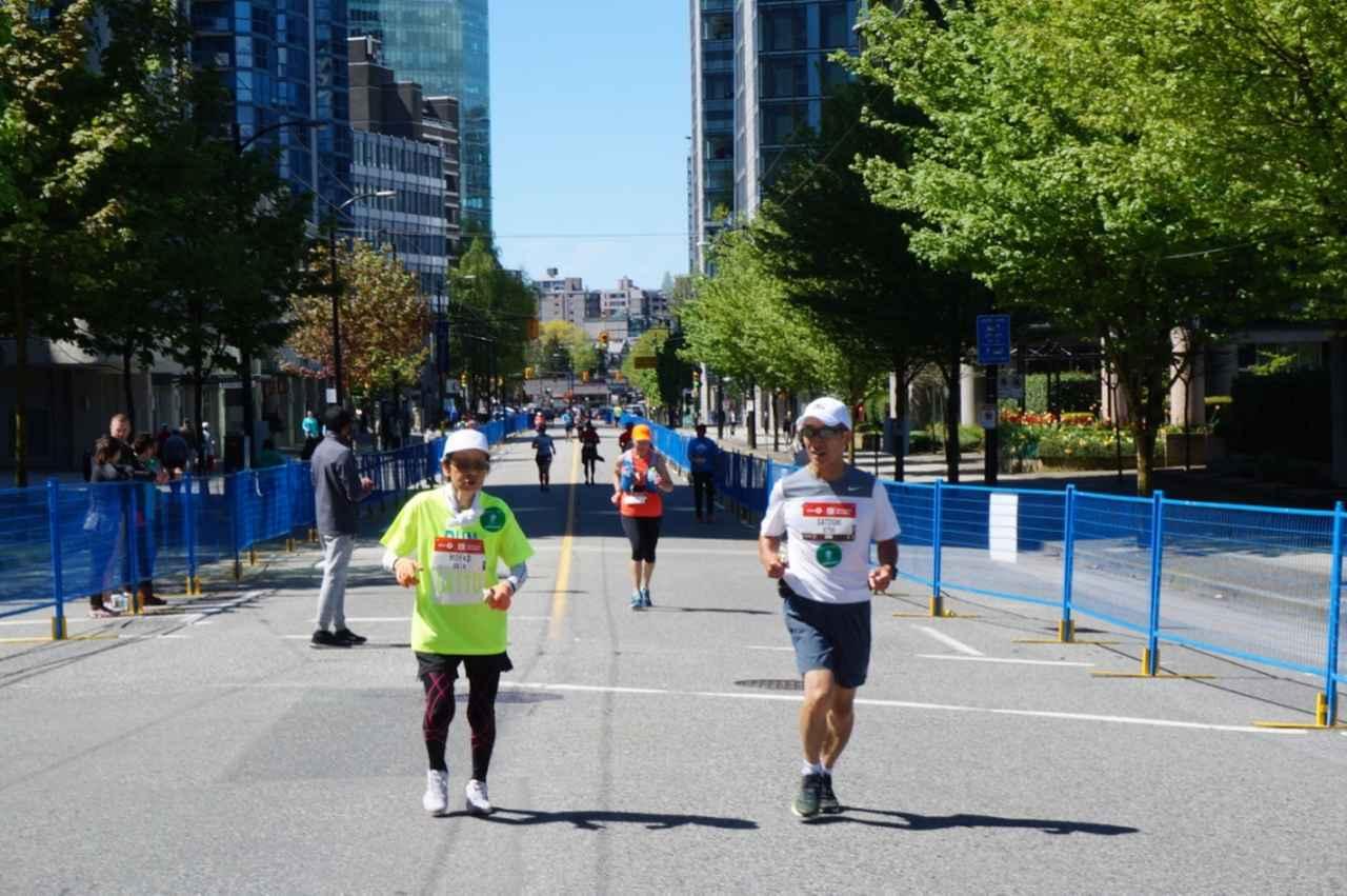 画像13: いよいよマラソン当日!フル・ハーフのスタートはビクトリアパーク