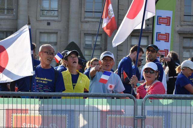 画像8: パリのマラソンコースは、観光地を巡るコース。 目で見て走って楽しいマラソン