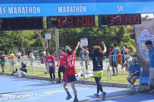 画像11: 4月9日グアムマラソン当日