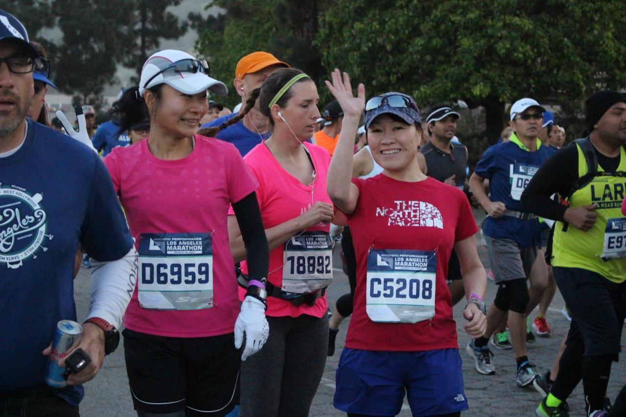 画像4: いよいよロサンゼルスマラソン当日