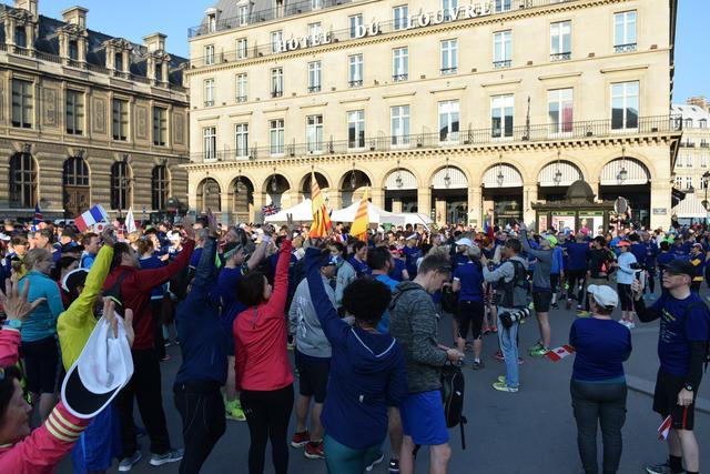 画像6: パリのマラソンコースは、観光地を巡るコース。 目で見て走って楽しいマラソン
