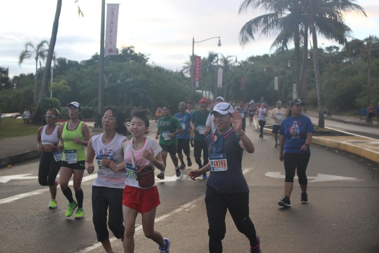 画像9: 4月9日グアムマラソン当日