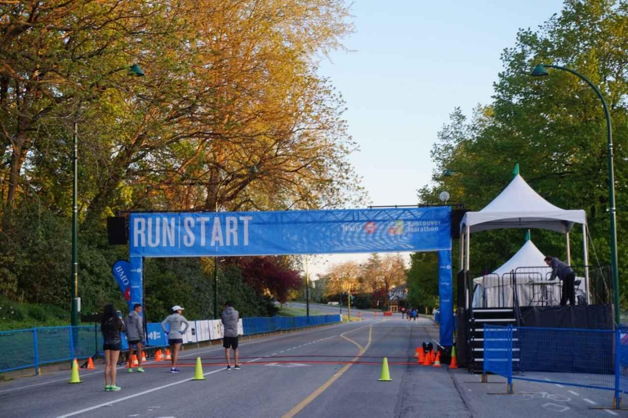 画像1: いよいよマラソン当日!フル・ハーフのスタートはビクトリアパーク
