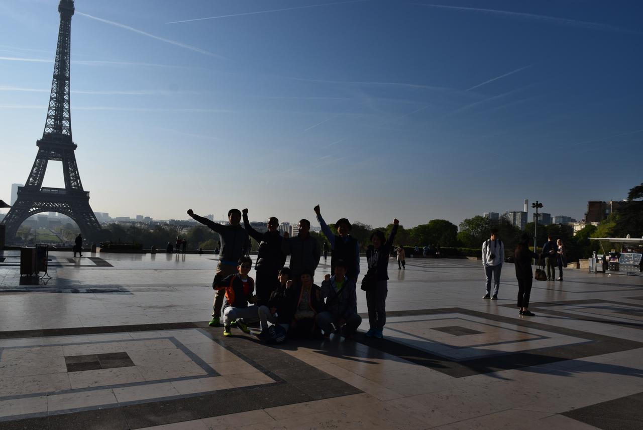 画像1: パリのマラソンコースは、観光地を巡るコース。 目で見て走って楽しいマラソン