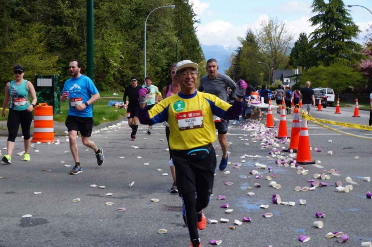 画像6: いよいよマラソン当日!フル・ハーフのスタートはビクトリアパーク
