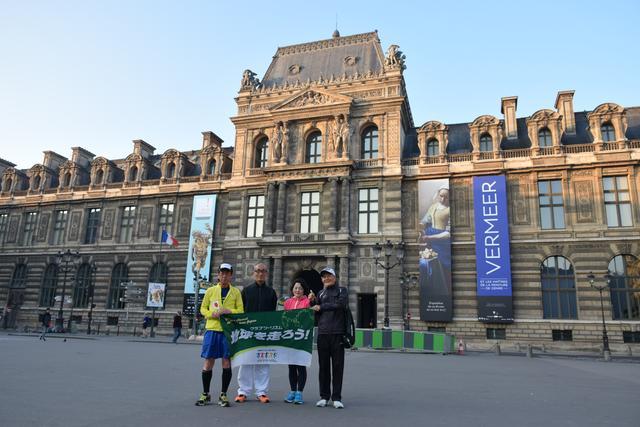 画像5: パリのマラソンコースは、観光地を巡るコース。 目で見て走って楽しいマラソン