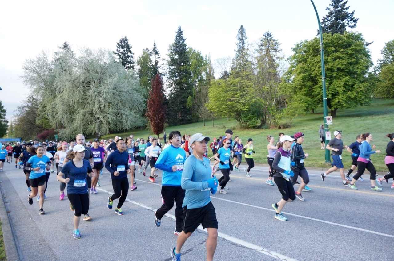画像4: いよいよマラソン当日!フル・ハーフのスタートはビクトリアパーク