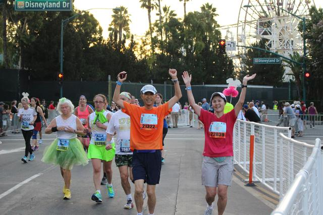 画像14: ディズニーランドハーフマラソンは、5キロ・10キロ・ハーフの3種目