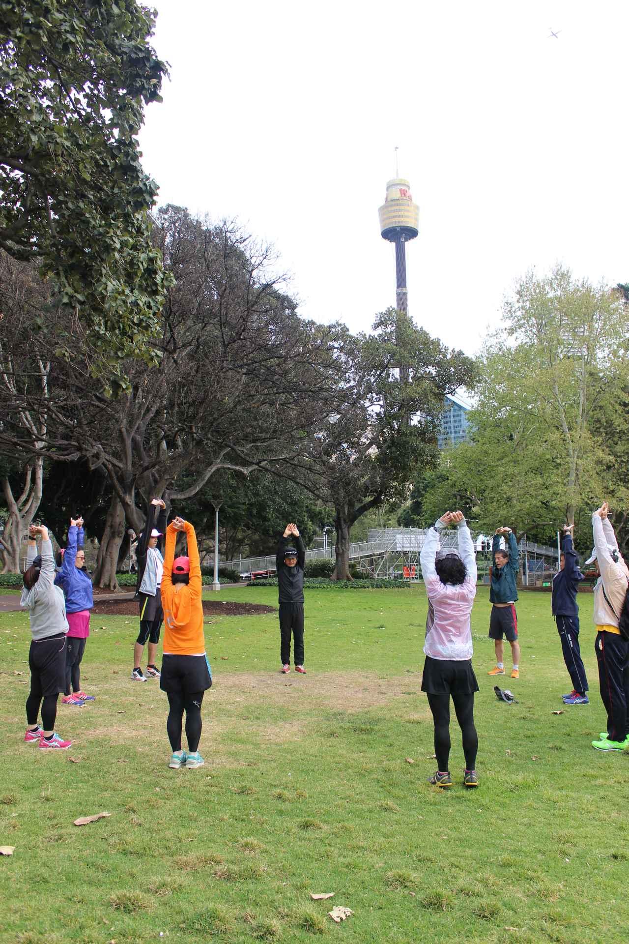 画像1: 金コーチによるプログラムが盛りだくさん!しっかりマラソンに備えます