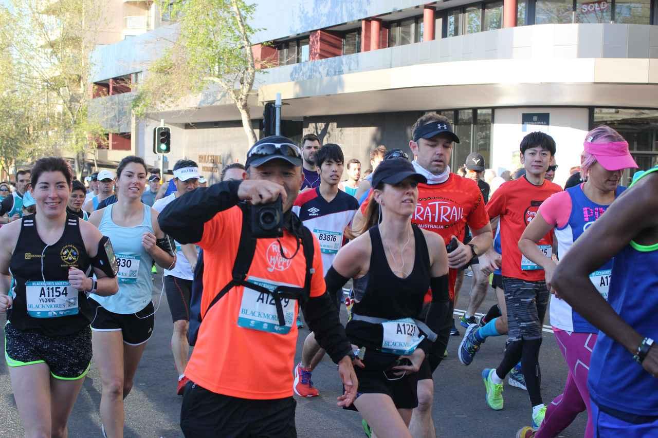 画像4: 続いてフルマラソンスタート!!