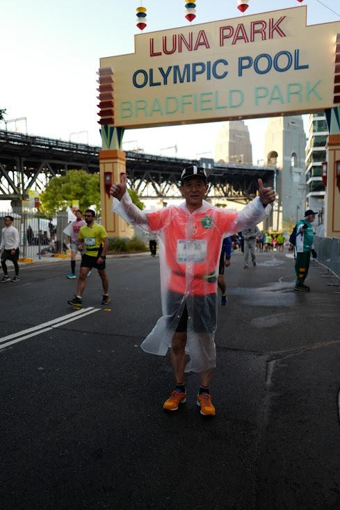 画像1: 続いてフルマラソンスタート!!