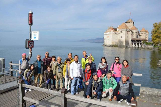 画像1: ツアーは6日間コース8日間の2パターン。 どちらもスイスインターナショナルエアラインズの直行便でチューリッヒへ
