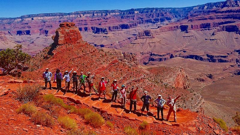 画像: 【26715】<ハイク初級>『アメリカ国立公園 グランドサークル絶景ハイキング8日間』 歩けば驚きと感動がちがう!/バス1人2席利用(空港送迎除く)/1グループ最大25名|クラブツーリズム