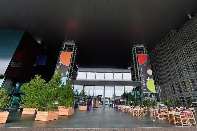 画像: 音楽祭のメイン会場カルチャーコングレスセンター