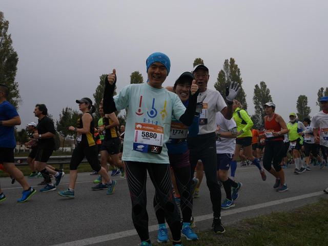 画像6: いよいよベニスマラソンスタート