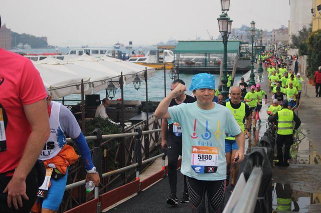 画像9: いよいよベニスマラソンスタート