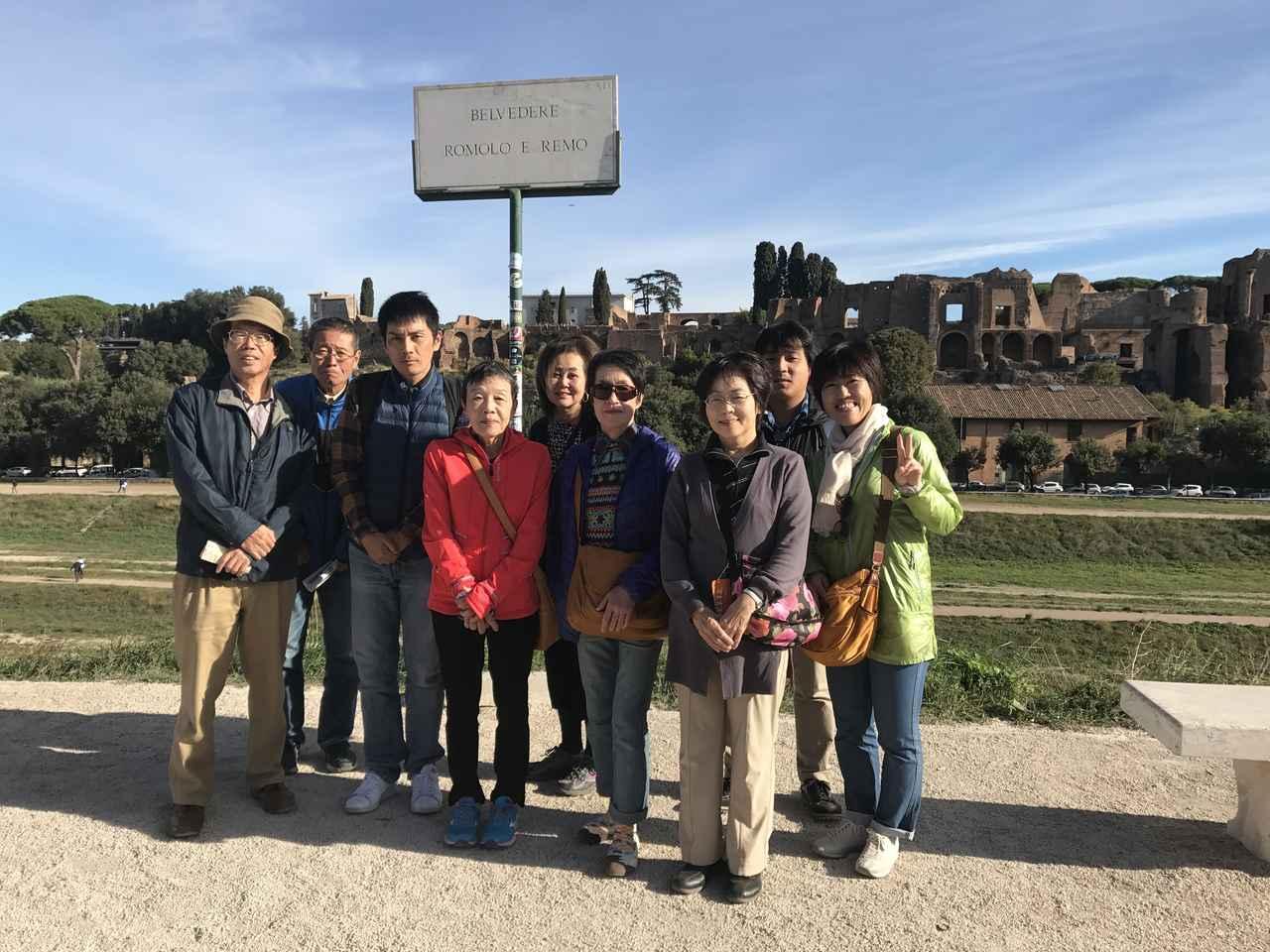 画像9: 翌日は帰国の方々とお別れし、 ボローニャ、フィレンツェ、ローマ観光に向かいました。