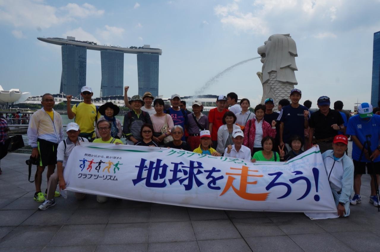 画像3: 【地球を走ろう】ガーデンシティをめぐる人気大会! シンガポールマラソンツアー 大会レポート