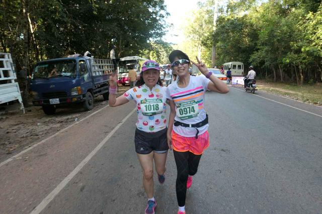 画像27: 【地球を走ろう】世界遺産を走る!チャリティーマラソン  アンコールワット国際ハーフマラソン レポート