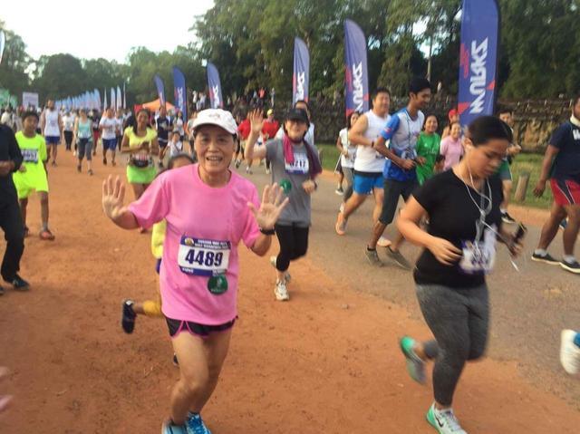 画像12: 【地球を走ろう】世界遺産を走る!チャリティーマラソン  アンコールワット国際ハーフマラソン レポート