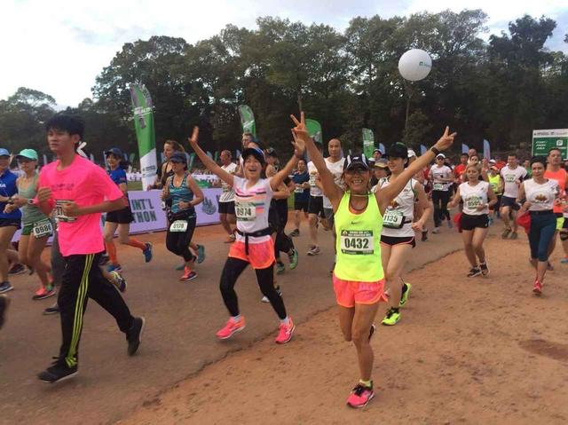 画像13: 【地球を走ろう】世界遺産を走る!チャリティーマラソン  アンコールワット国際ハーフマラソン レポート