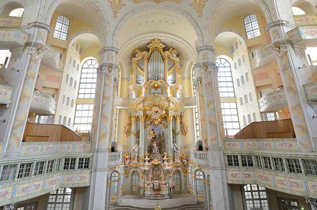 画像: ドレスデン/聖母教会オルガン