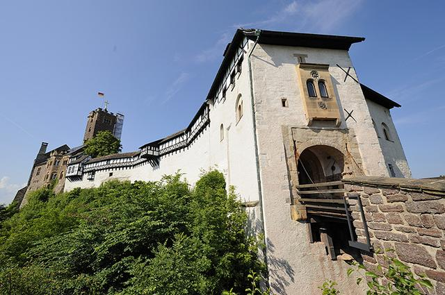 画像: 世界遺産ヴァルトブルク城